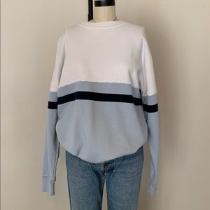 Brandy Melville jgalt color block crewneck NWOT